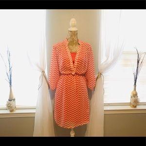 Dresses & Skirts - SPRINGTIME 💐 Chevron Dress